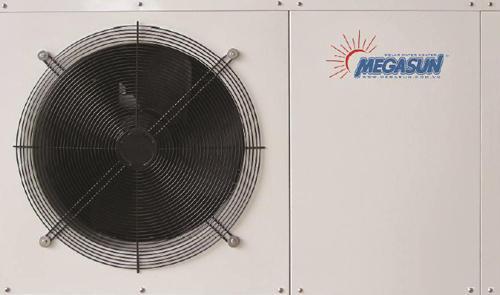 Máy nước nóng bơm nhiệt Megasun