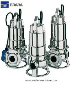 Máy bơm chìm hút bùn Inox Ebara nhập khẩu DW VOX 150