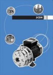 máy bơm đẩy cao Ewara CDXM 90/10 (Đầu Inox )